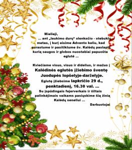 kalėdų