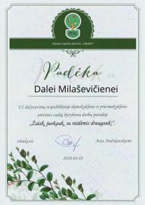 Dalei Milaševičienei