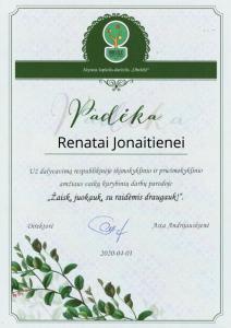 Renatai Jonaitienei